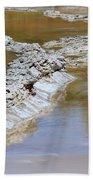 Great Fountain Geyser Firehole Lake Drive Beach Sheet