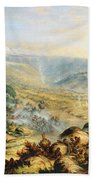 Great Peak Of The Amatola-british-kaffraria  Beach Towel