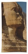 Great Sphinx Of Giza Beach Towel by Travel Pics