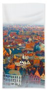 Greatest Small Cities In The World Beach Towel