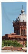 Greek Orthodox College Dome Beach Towel