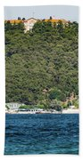 Greek Orthodox School And The Sea Of Marmara Beach Towel