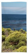 Green And Blue Beach Towel