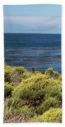 Green And Blue Beach Sheet
