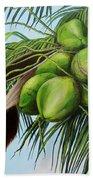 Green Coconuts- 01 Beach Towel