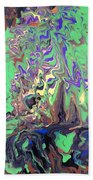 Twilight Forest Beach Towel