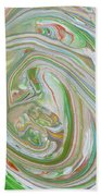 Green Garden  Beach Towel
