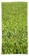 Green Grass Beach Towel