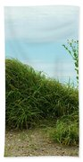 Green Grass Mountain Beach Sheet