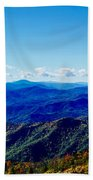 Green Knob Hdr Southern Panorama Beach Towel