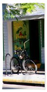 Green Parrot Bar Key West Beach Towel
