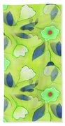 Green Tea Beach Towel