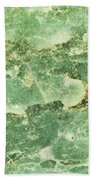 Green Turtiuus Beach Towel