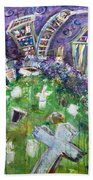 Greenwood Graveyard Brooklyn Beach Towel