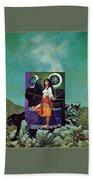 Greetings From The Otherworld Don Maitz Beach Towel