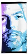 Gregg Allman 1947 2017 Beach Towel