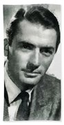 Gregory Peck Hollywood Actor Beach Towel