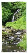 Grey Mares Tail Beach Towel