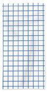 Grid Boxes In White 18-p0171 Beach Towel