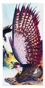 Griffins On Cliff Beach Towel