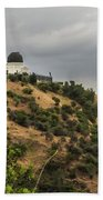 Griffith Park Observatory Beach Towel