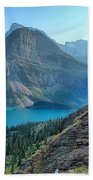 Grinnell Lake - Many Glacier Beach Towel