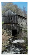 Grist Mill At Moore State Park Beach Towel