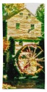 Grist Mill Tranquility Beach Towel