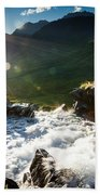 Grizzly Bear Falls Beach Towel
