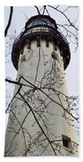Grosse Point Lighthouse Tower Beach Towel