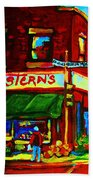 Grosterns Market Beach Towel