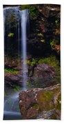 Grotto Falls Beach Towel
