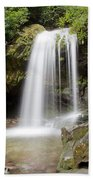 Grotto Falls Great Smoky Mountains Beach Towel by Jemmy Archer