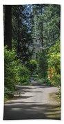 Grotto Monastery Beach Towel