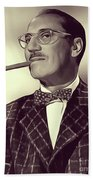 Groucho Marx Beach Towel