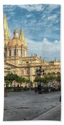 Guadalajara Cathedral Beach Towel