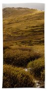 Guanella Pass Autumn Day I Beach Towel