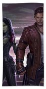Guardians Of The Galaxy Vol. 2 Beach Towel