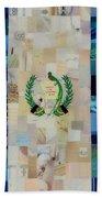 Guatemala Flag Beach Towel