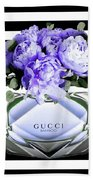 Gucci Perfume Violet Beach Towel