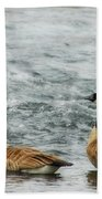 Guess Who's Coming To Dinner Beach Towel