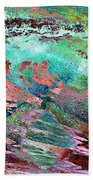 Guided By Intuition - Abstract Art Beach Towel