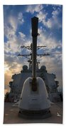 Guided-missile Destroyer Uss Higgins Beach Towel