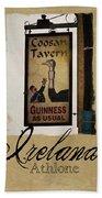 Guinness As Usual Athlone Ireland Beach Towel