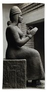 Gula, Mesopotamian Goddess Of Healing Beach Towel