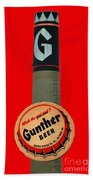 Gunther Beer Beach Towel