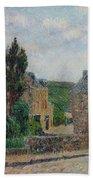 Gustave Loiseau 1865 - 1935 Rue A St. Lunaire Beach Towel