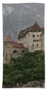 Gutenberg Castle Beach Towel by Yair Karelic