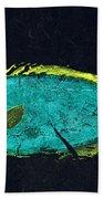 Gyotaku Mu Mu Beach Sheet