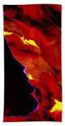 Gypsy Flame Beach Sheet